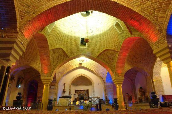 حمام تاریخی قلعه در همدان