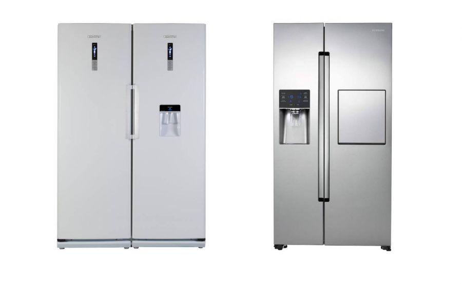 یخچال فریزر ساید بای ساید با دوقلو چه تفاوتی دارد ؟