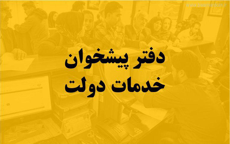 لیست تلفن و آدرس دفاتر پیشخوان دولت ایلام