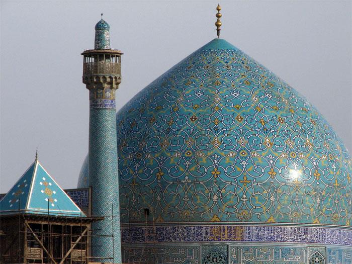 نام و آدرس مساجد خیابان فروغی اصفهان