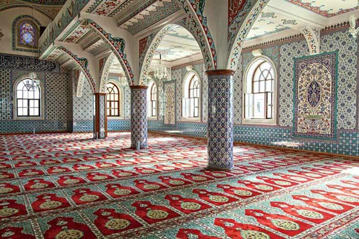 نام و آدرس مساجد خیابان قائمیه  اصفهان