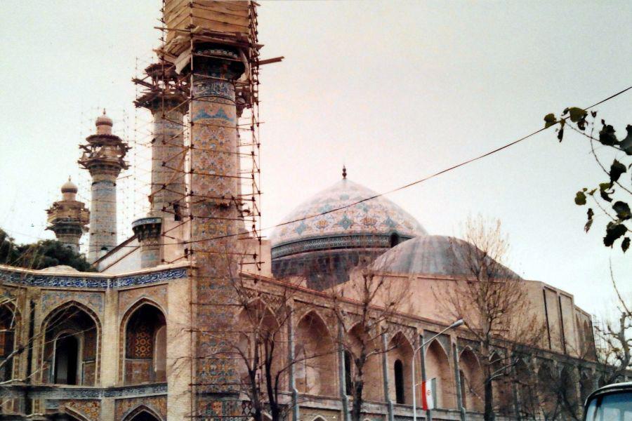 لیست نام و آدرس مساجد منطقه ۱۲ تهران