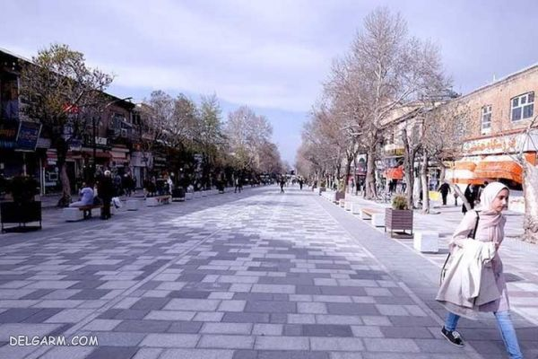 مسیر خیابان سبزه میدان و چهارراه انقلاب و سعدی جنوبی؛ خیابان شادی