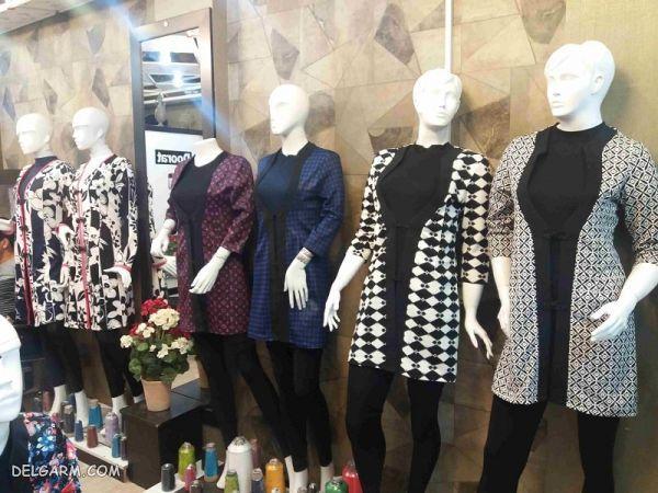 مرکز خرید مانتو در تهران