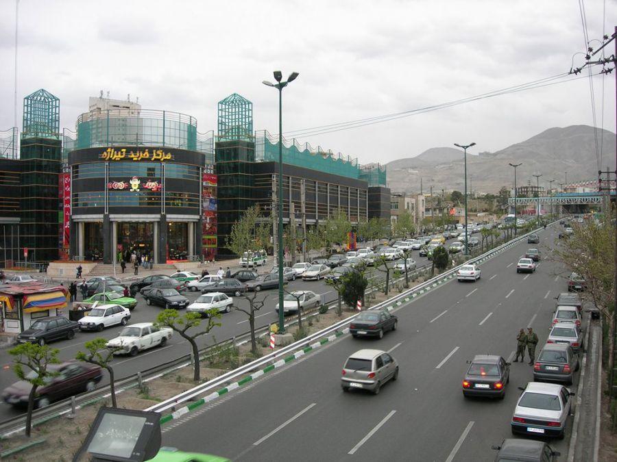 مرکز خرید تیراژه تهران : مرکز خرید لوکس در بزرگراه اشرفی اصفهانی