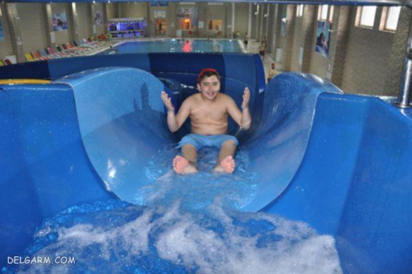 امکانات پارک آبی شهر وان ترکیه برای کودکان