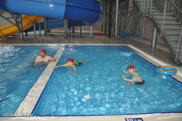 آدرس پارک آبی وان Çağdaş Aquapark