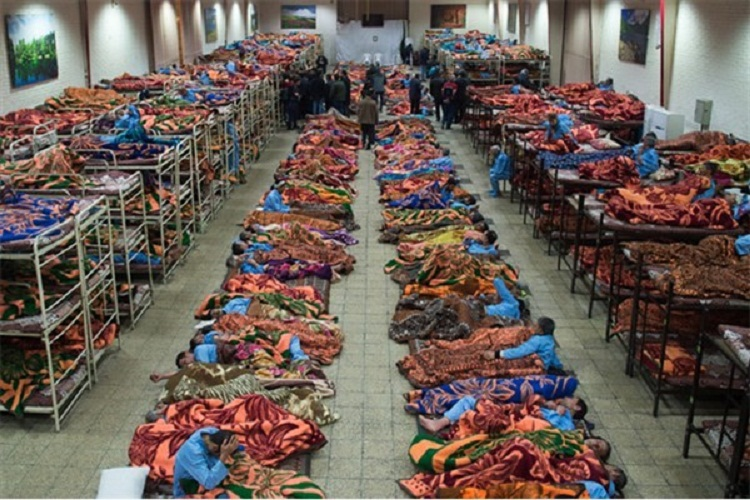گرمخانه شیراز : مراکز سرپناه مخصوص افراد بیخانمان شهرستان شیراز