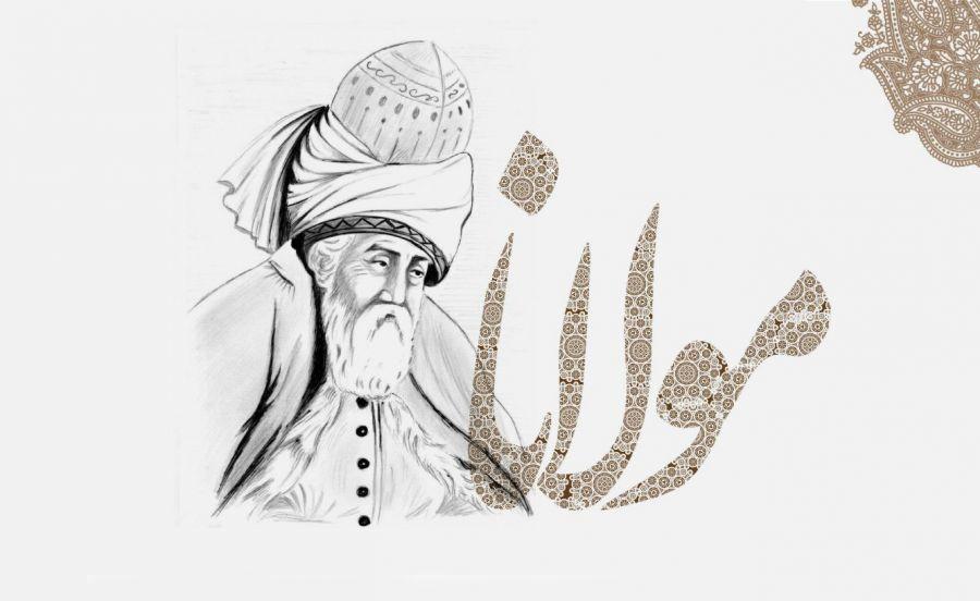 شعر روز ها فکر من این است همه شب سخنم از مولانا