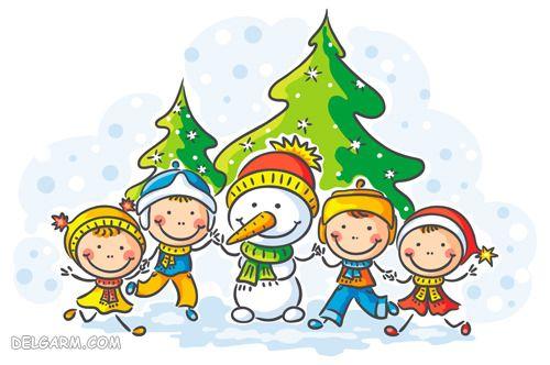 شعر کودکان در مورد زمستان
