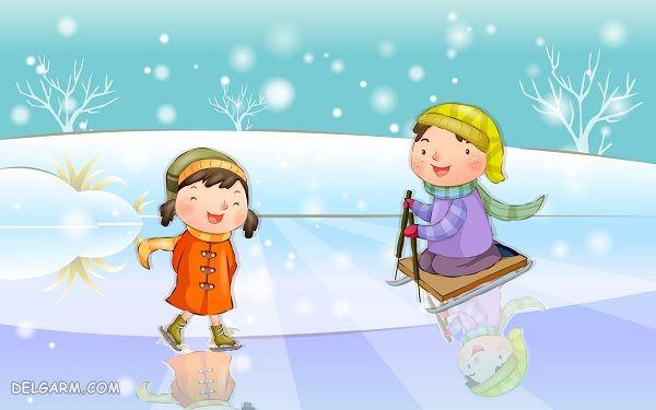 شعر زمستان برای مهدکودکی ها