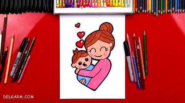 روز مادر ، نقاشی روز مادر
