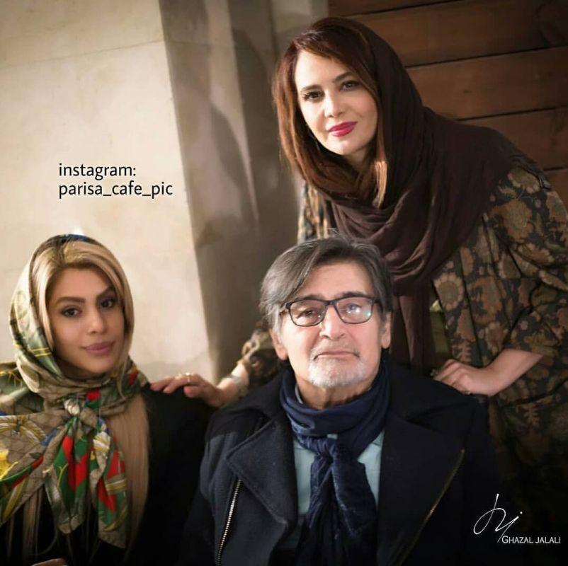 عکس جدید رضا رویگردی و همسرش تارا کریمی