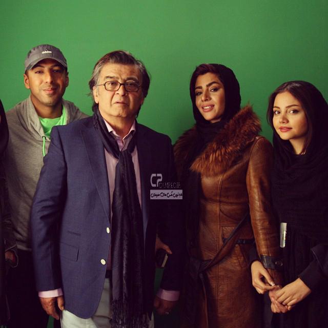 رضا رویگردی و همسر دومش