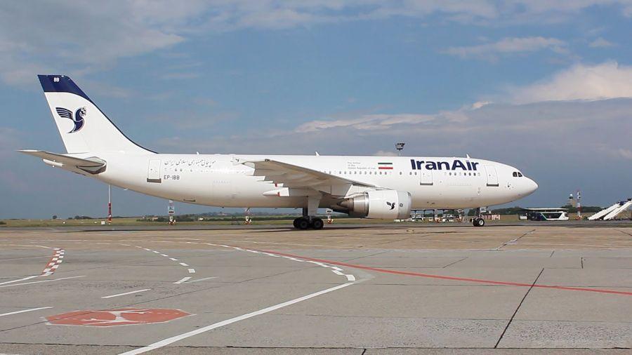 آتش گرفتن هواپیما ی ایران ایر در فرودگاه مهرآباد + فیلم