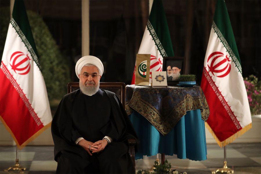 پیام حسن روحانی به مناسبت نوروز ۱۳۹۸+ فیلم
