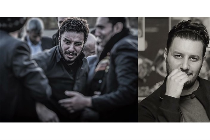 جواد عزتی به سوگ پدر خود نشست