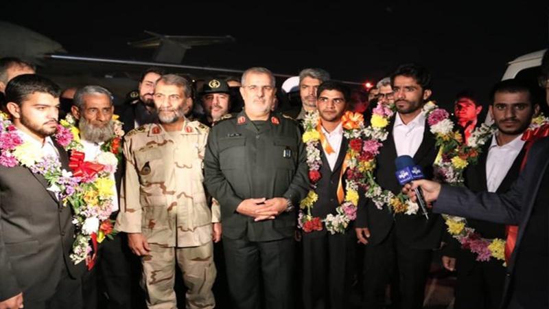 چهار مرزبان ربوده شده ایرانی وارد تهران شدند
