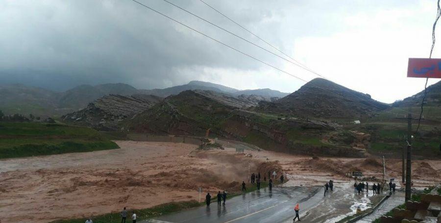 آخرین جزئیات خسارات سیل در استان لرستان