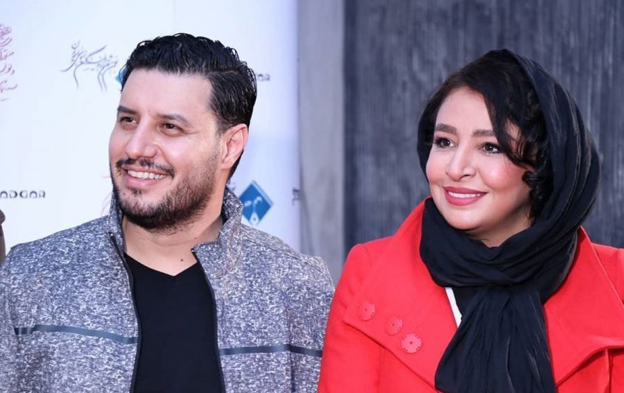 عکس های جواد عزتی و مهلقا باقری در جشنواره فیلم فجر