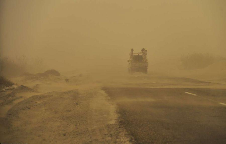 طوفان وحشتناک شن در عراق ۵ کشته به جای گذاشت + فیلم