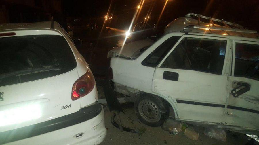 ماجرای جنجالی تصادف پورشه با پراید در اصفهان + عکس و فیلم