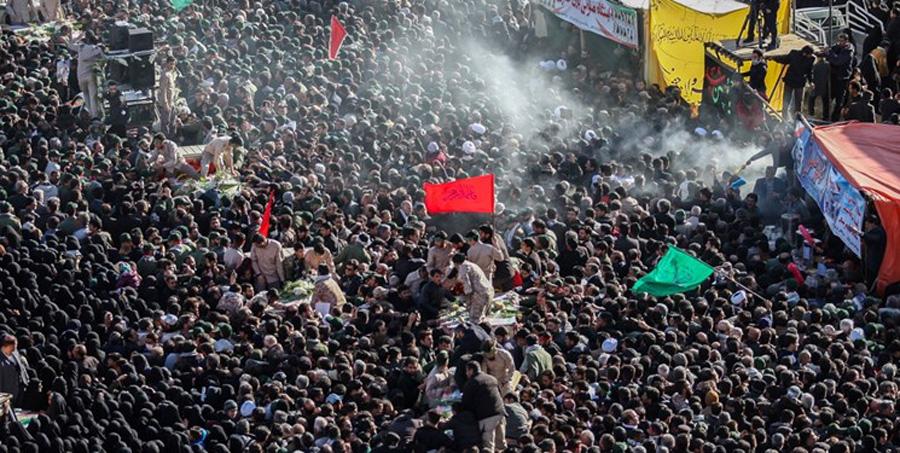 تشییع شهید دفاع مقدس در نجف آباد پس از 38 سال