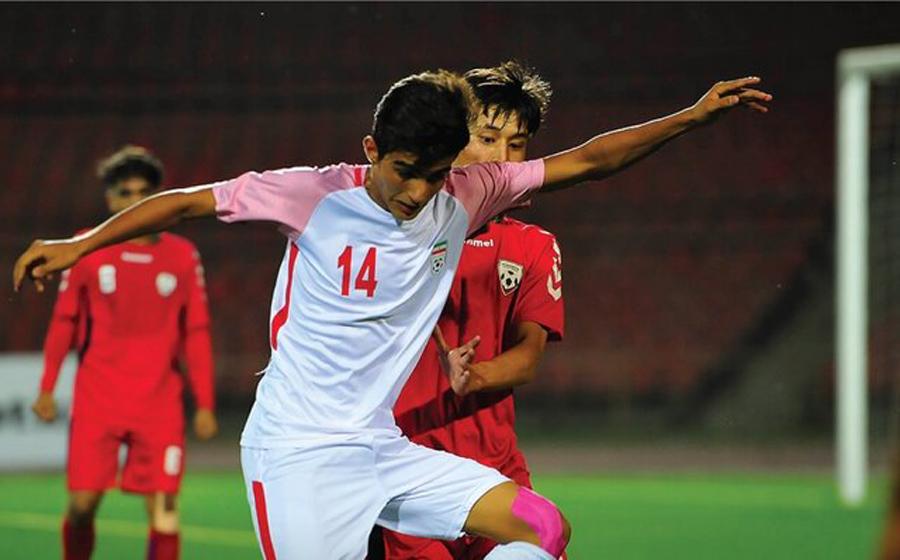واکنش شکست عجیب نوجوانان ایران از افغانستان در AFC