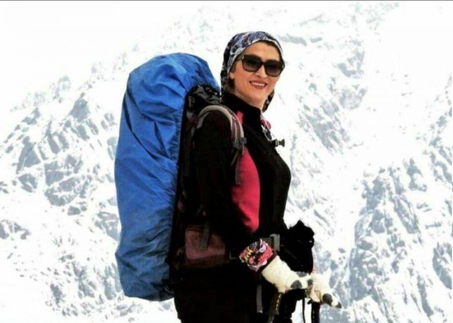جسد کوهنورد زن مفقود شده در قله دماوند پیدا شد