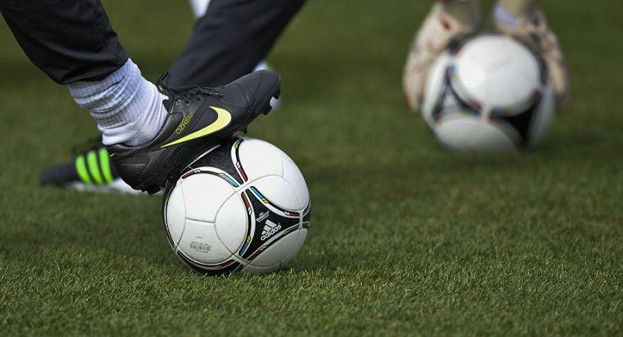 اخراج از بازی فوتبال به خاطر لگد زدن به یک مرغ !