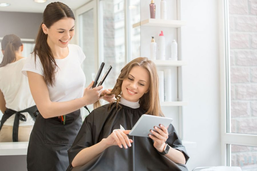 انواع موها، مراقبت و مدل دادن به آنها