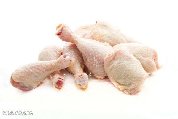 مرغ موادغذایی مناسب برای رشد مو