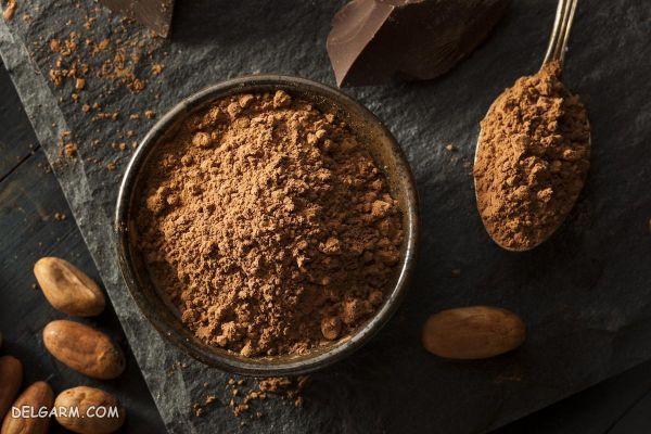 ماسک پودر کاکائو برای مو