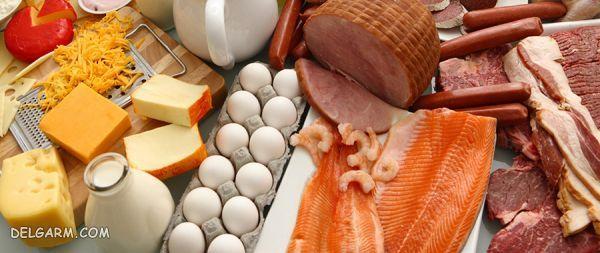 منابع حیوانی سرشار از ویتامین آ