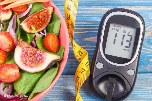 تغذیه سالم، بیماران مبتلا به دیابت
