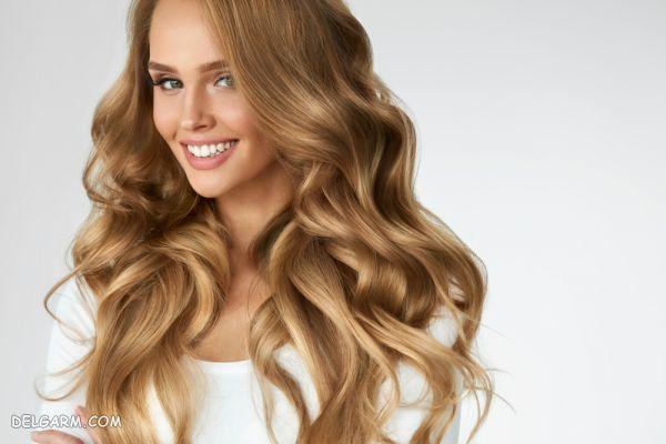 فرهای شل یا مواج موی حالت دار