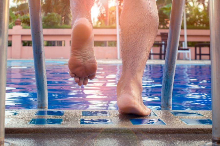 تاثیر ورزش در آب بر روی لاغری