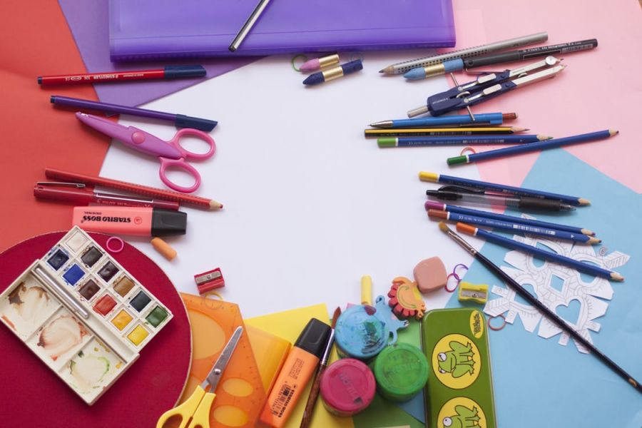 کاربرد ابزار نقاشی و رنگ آمیزی چیست ؟