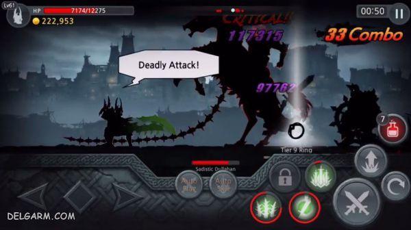 معرفی بازی گوشی Dark Sword ۲