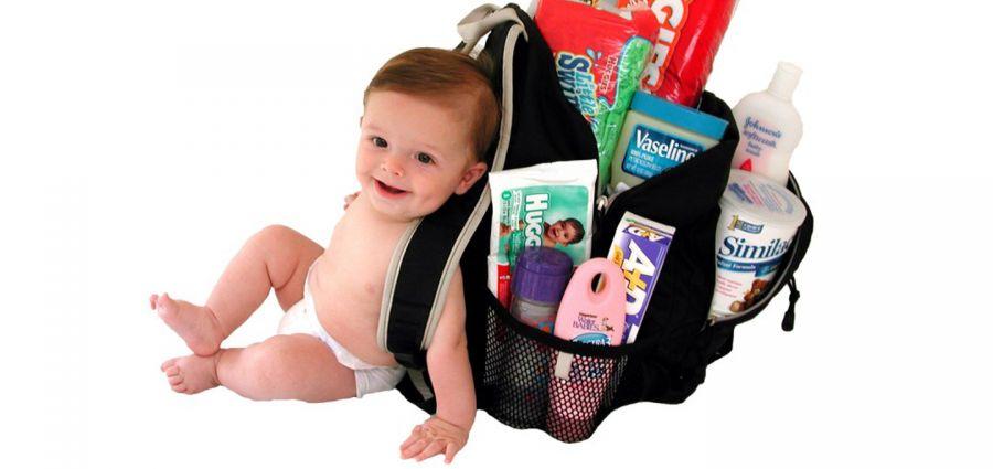 وسایل کودک برای سفر