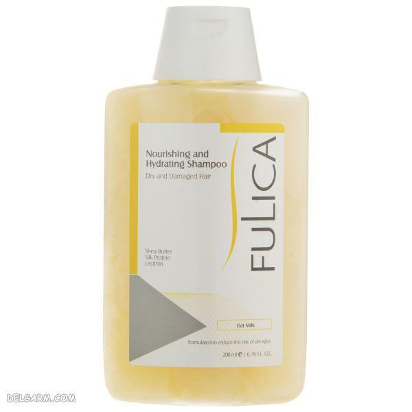 شامپو فولیکا برای موهای خشک و آسیب دیده