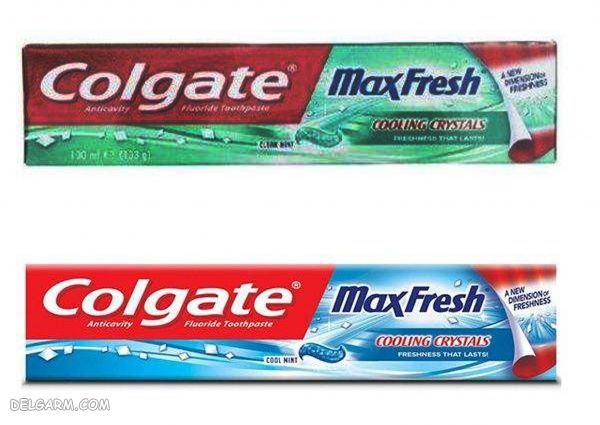 خمیر دندان دو عددی کلگیت