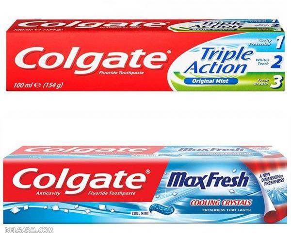 خمیر دندان دوعددی کلگیت با کیفیت بالا