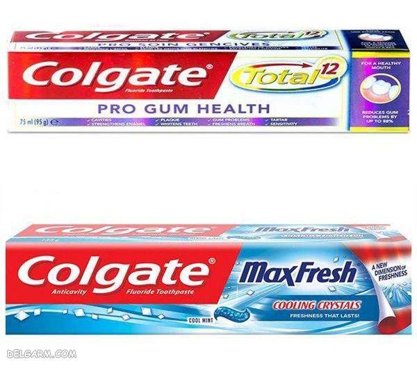 خمیر دندان دوعددی کلگیت