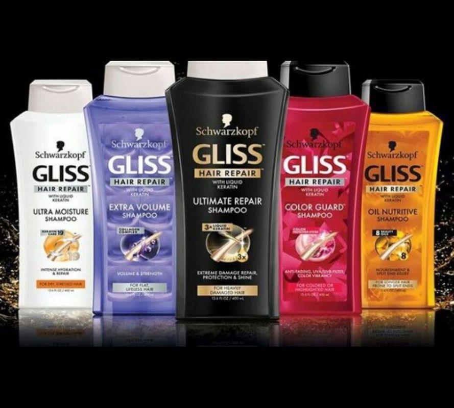 بهترین شامپوهای برند GLISS