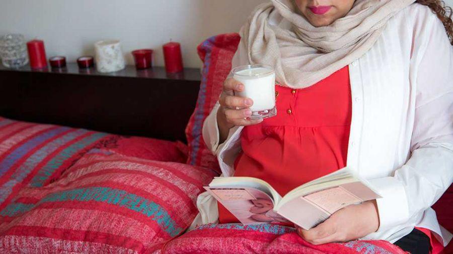 تأثیر شگفت انگیز مصرف شیر در بارداری