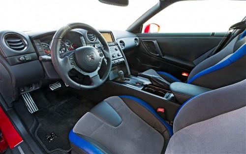2014 Nissan GT-R Track Pack Interior