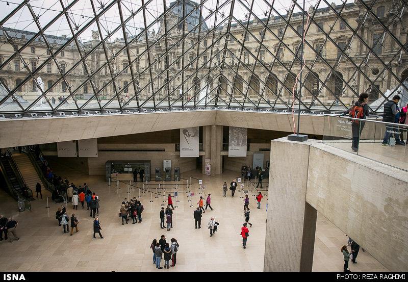 تصاویر موزه لوور - پاریس