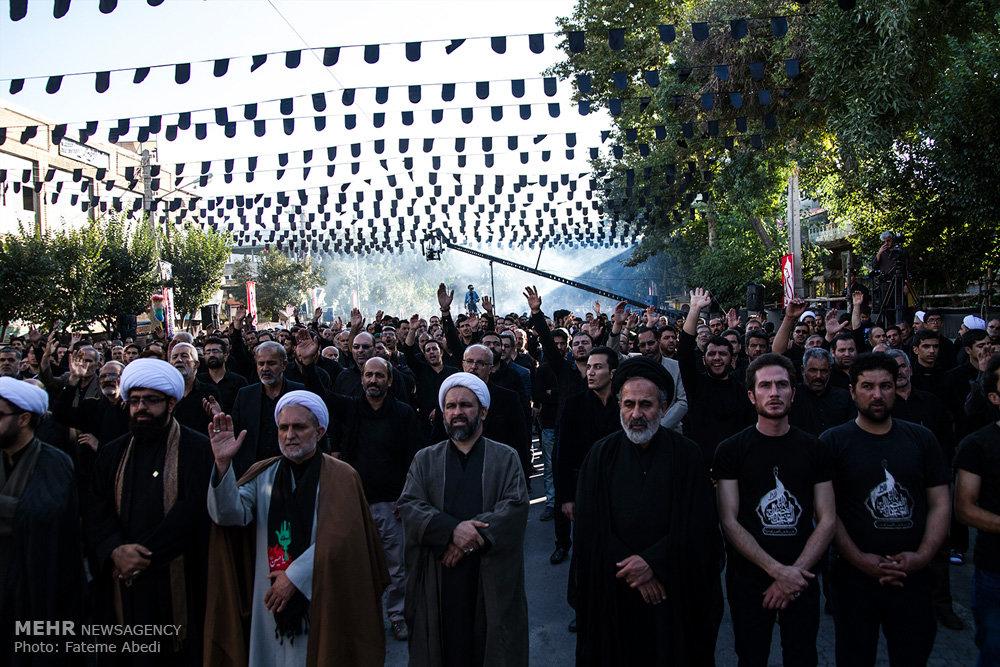 تجمع بزرگ عاشوراییان در اراک