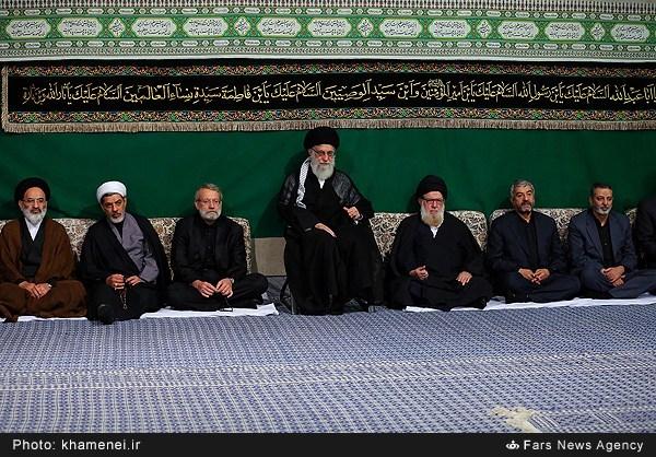 سومین شب عزاداری محرم در حسینیه امام خمینی(ره)